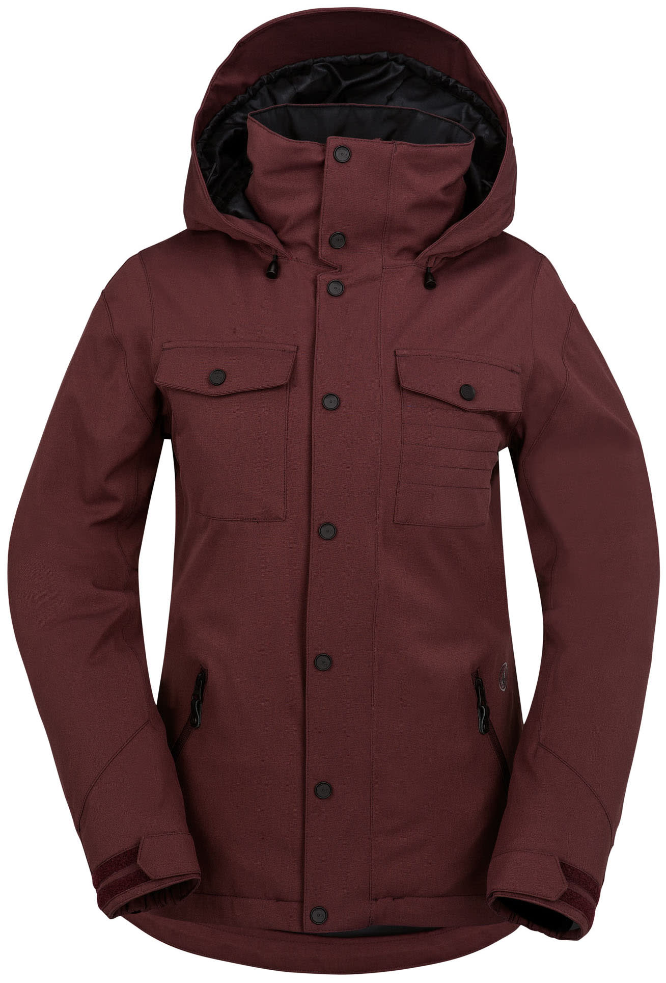 on sale volcom eagle insulated snowboard jacket womens up to 40 off. Black Bedroom Furniture Sets. Home Design Ideas