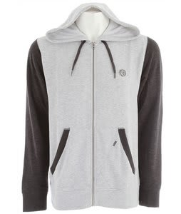 Volcom Eds Slim Hoodie Heather Grey