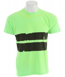 Volcom Electro Stripe T-Shirt Neon Mint Heather