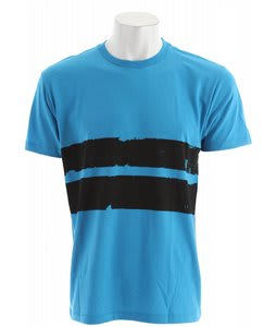 Volcom Electro Stripe T-Shirt Neon Turquoise Heather