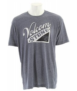 Volcom Embrace Ball Marled T-Shirt Navy