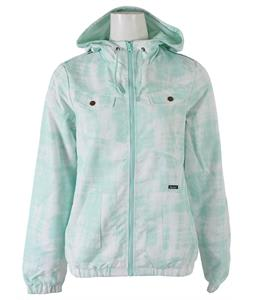 Volcom Enemy Lines Windbreaker Jacket Glacier Blue