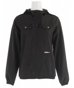 Volcom Enemy Lines Windbreaker Black