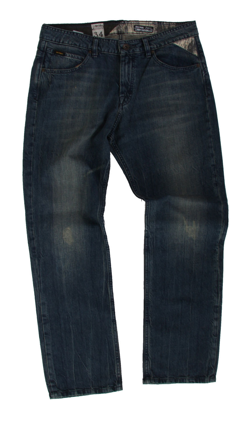 Shop for Volcom Enowen Jeans Destructo Wash - Men's