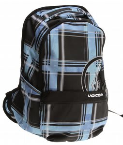 Volcom Equator Backpack Blue Plaid
