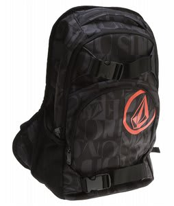 Volcom Equilibrium Backpack Black Combo