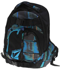 Volcom Equilibrium Backpack Blue Combo