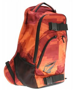 Volcom Equilibrium Backpack Red Combo