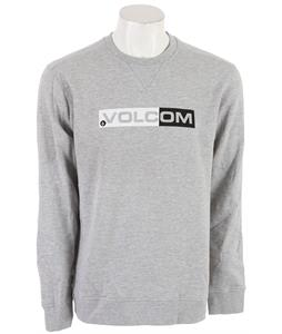Volcom Euro Styling Sweatshirt Heather Grey