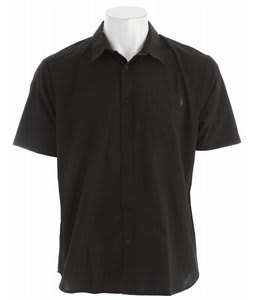 Volcom EX Factor Solid Shirt Black