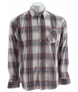 Volcom Ex Factor Plaid L/S Shirt Dust Red