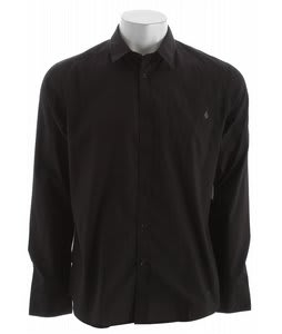 Volcom Ex Factor Solid L/S Shirt Black