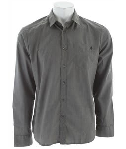 Volcom Ex Factor Solid L/S Shirt Shadow Grey Heather