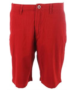 Volcom Faceted Shorts Crimson