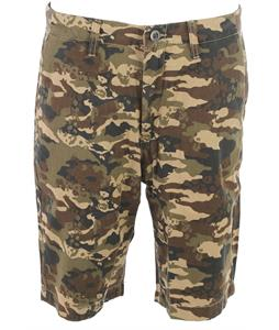 Volcom Faceted Shorts Dark Khaki