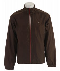 Volcom Fader Windbreaker Brown