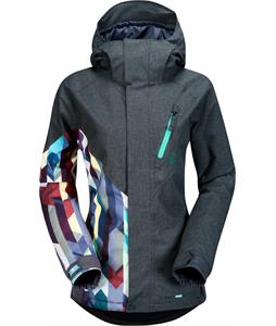 Volcom Fawns Ins Snowboard Jacket Brushed Nickel