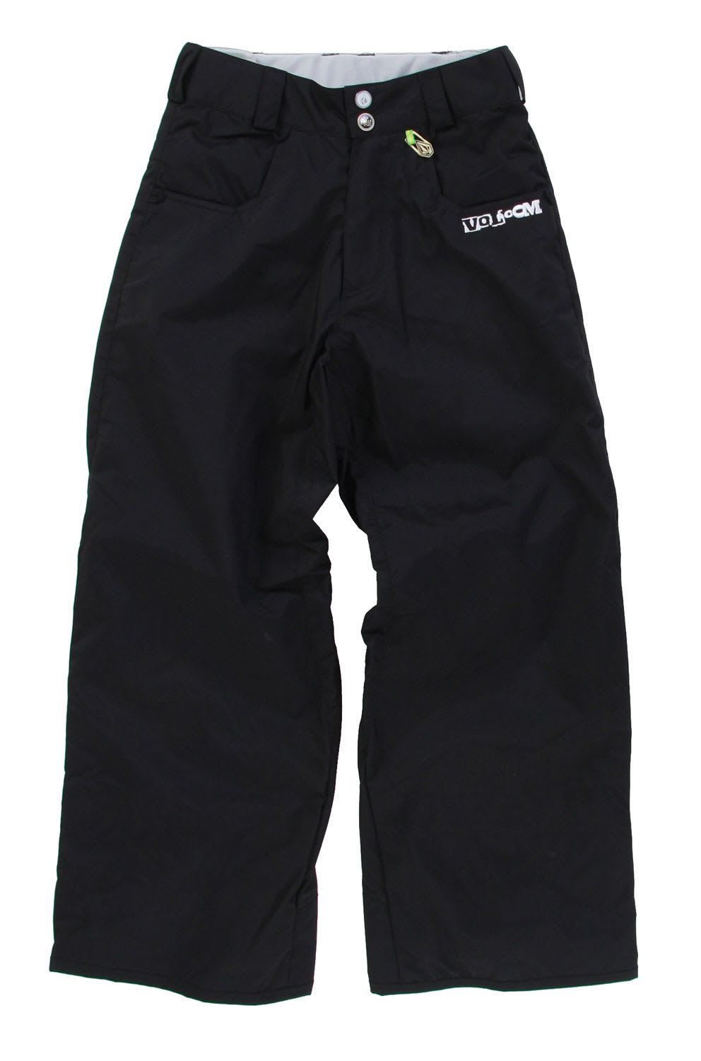 Shop for Volcom Five Snowboard Pants Black - Kid's