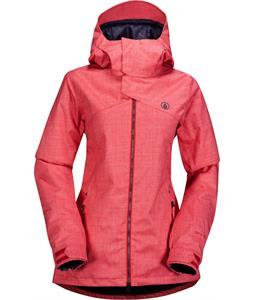 Volcom Flint Ins Snowboard Jacket Scarlet
