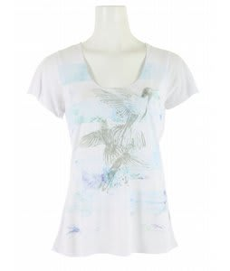 Volcom Floral Haze Lyric T-Shirt White