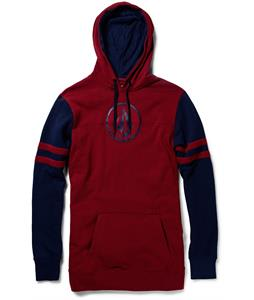 Volcom Football Hoodie Red