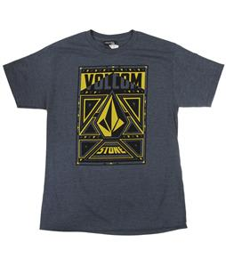 Volcom Force T-Shirt Navy Heather