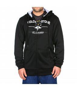 Volcom Founded Hydro Hoodie Black