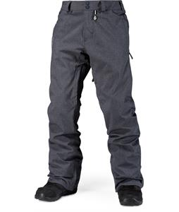 Volcom Freakin Snow Chino Snowboard Pants Charcoal