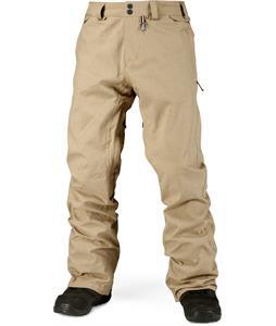 Volcom Freakin Snow Chino Snowboard Pants Khaki