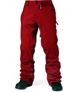 Volcom Freakin Snow Chino Snowboard Pants Red