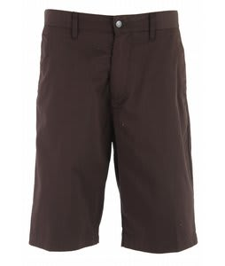 Volcom Frickin Too Chino Shorts Drip Brown