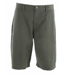 Volcom Fricken Too Chino Shorts Black Olive