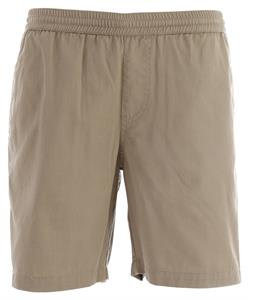 Volcom Frickin Elastic Shorts Khaki