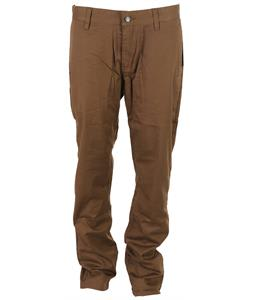 Volcom Frickin Modern Stretch Chino Pants Brown