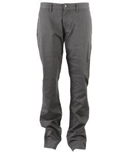 Volcom Frickin Modern Stretch Chino Pants Charcoal Heather