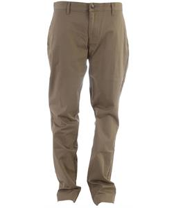 Volcom Frickin Modern Stretch Chino Pants Khaki