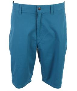 Volcom Frickin Modern Stretch Shorts Teal Green