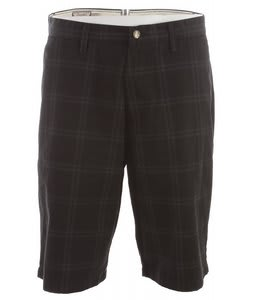 Volcom Frickin Plaid Shorts Black