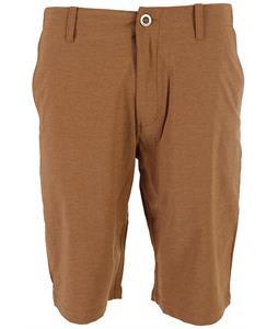Volcom Fruckn Drip-Dry Shorts Hazelnut