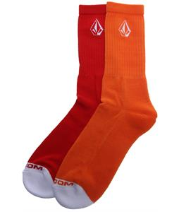 Volcom Full Stone Socks Orange
