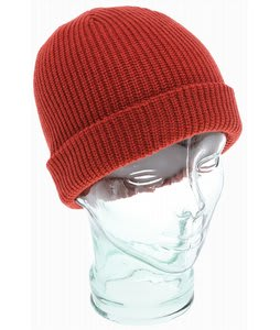 Volcom Full Stone Cuff Beanie Orange Red
