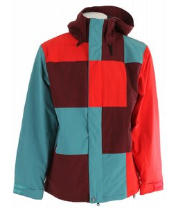 Volcom Getty Snowboard Jacket Maroon