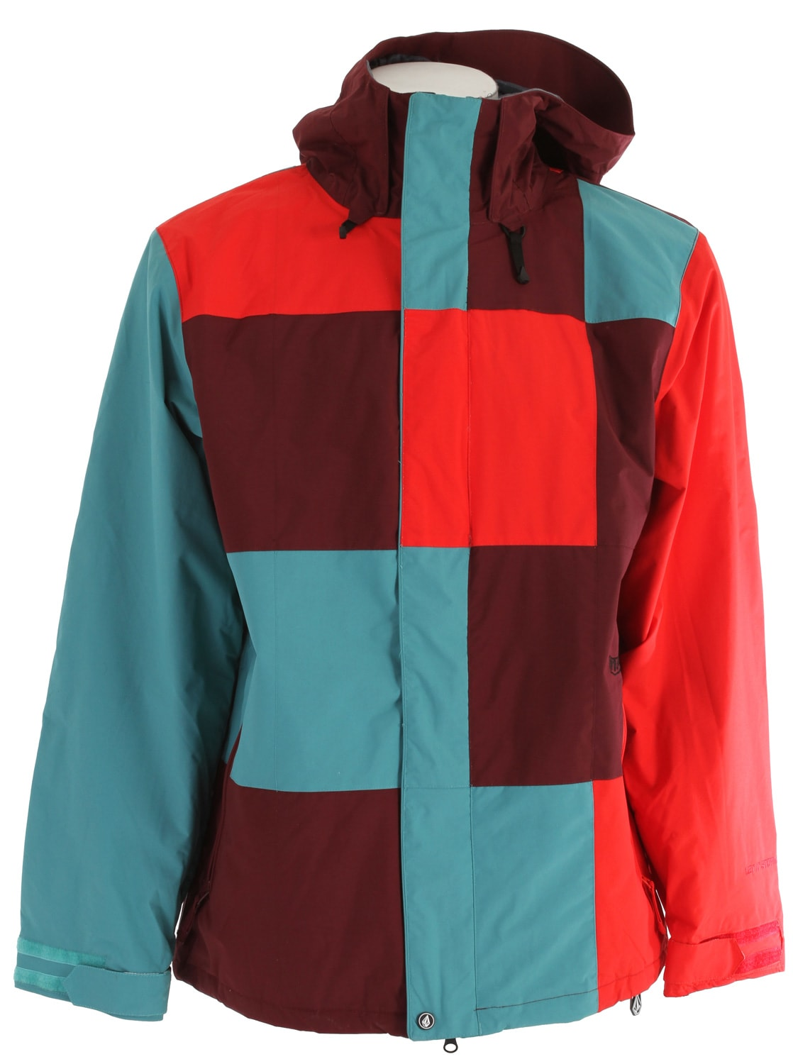 Shop for Volcom Getty Snowboard Jacket Maroon - Men's