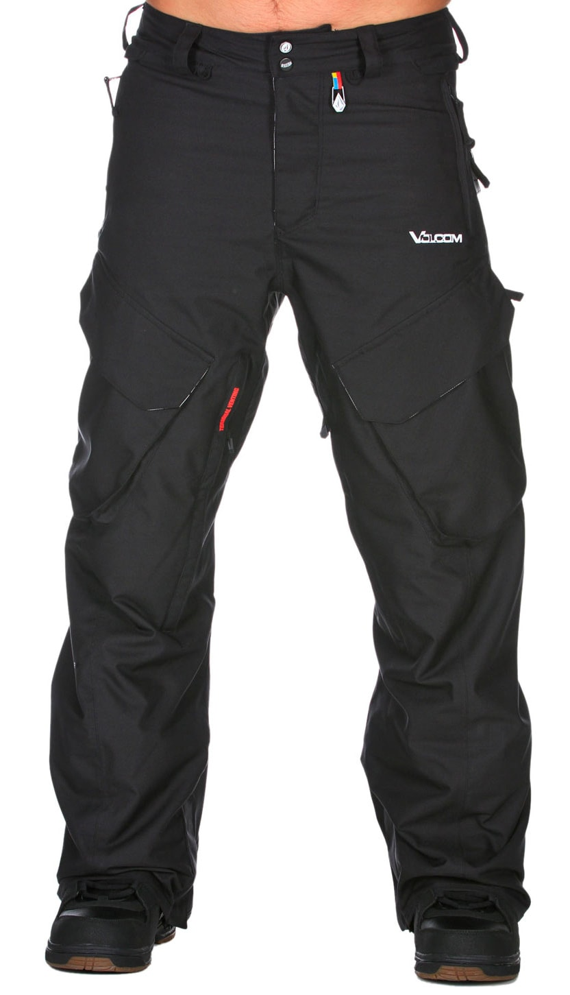 Shop for Volcom Gigi Ruf &quot;T.D.S&quot; Snowboard Pants Black - Men's