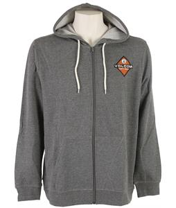 Volcom Goater Zip Hoodie Heather Grey