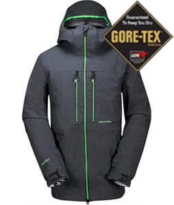 Volcom Guide Gore-Tex Snowboard Jacket Charcoal