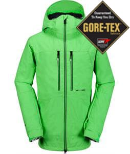 Volcom Guide Gore-Tex Snowboard Jacket Electric Green