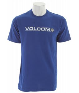 Volcom Halfer T-Shirt Bold Blue
