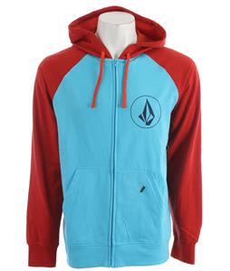 Volcom Half Stone Icon Hoodie Blue Drift Heather