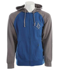 Volcom Half Stone Icon Hoodie Marina Blue Heather